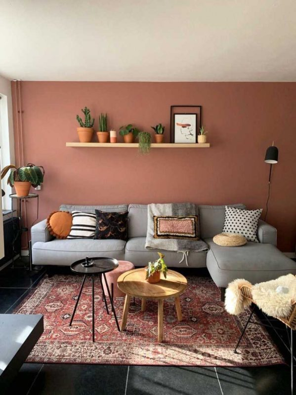 Warna Cat Rumah Clay yang Hangat